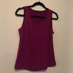 Ann Taylor XS Blouse purple